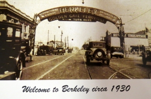 Archway, San Pablo and University Ave. (ca.1930), BHS postcard