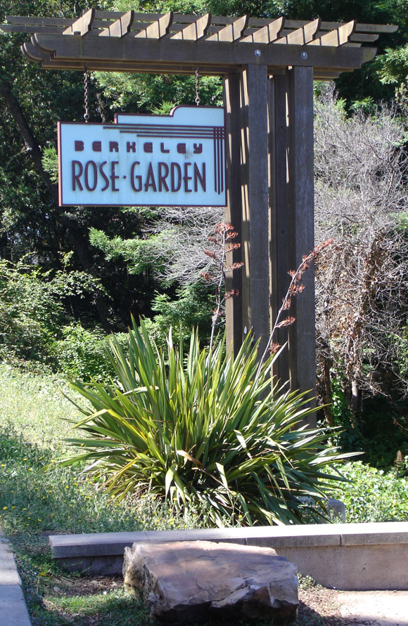 Roses In Garden: Berkeley Historical Plaque Project