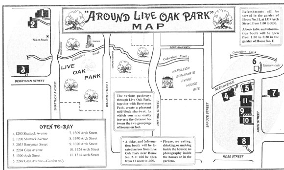 Berkeley Historical Plaque Project Live Oak Park