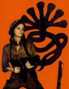 Patty Hearst (1974), SLA propaganda photo.