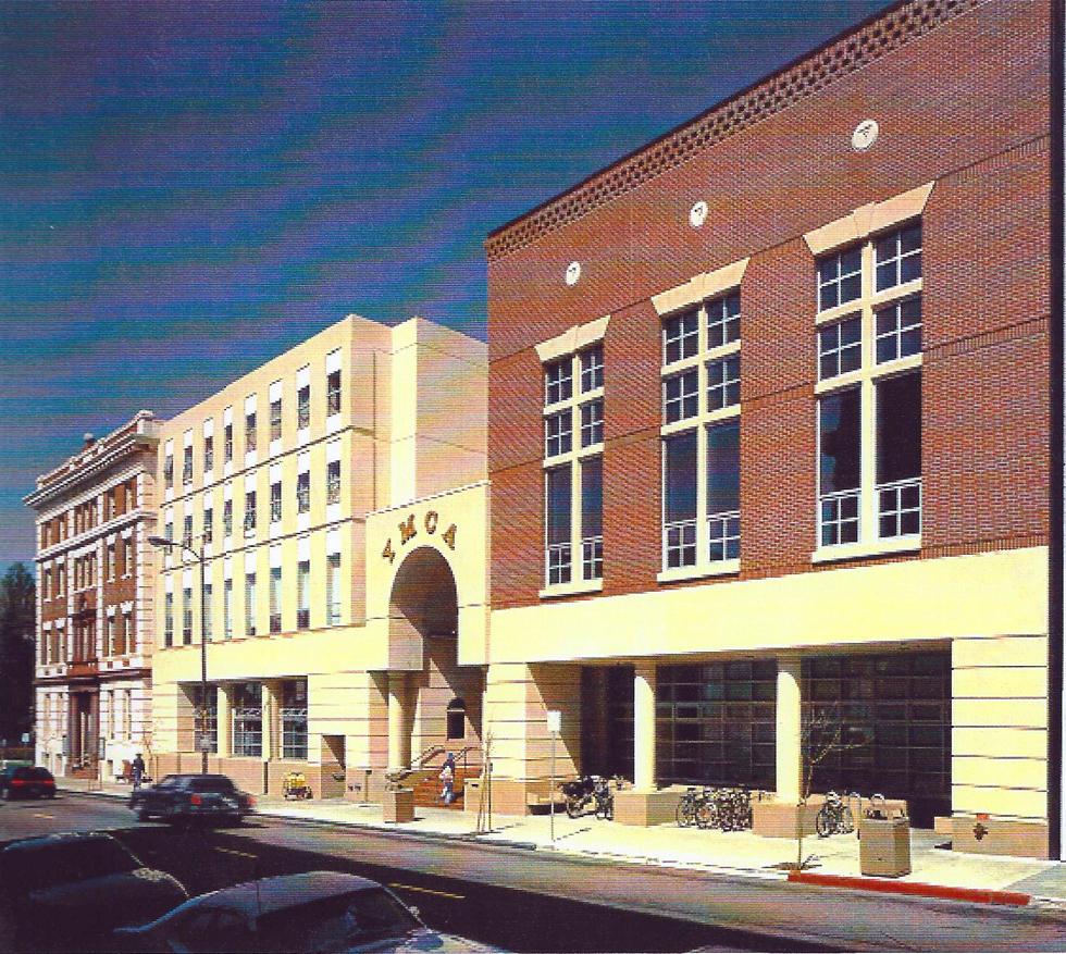 Berkeley YMCA (1995), Courtesy E. Paul Kelly AIA Architecture