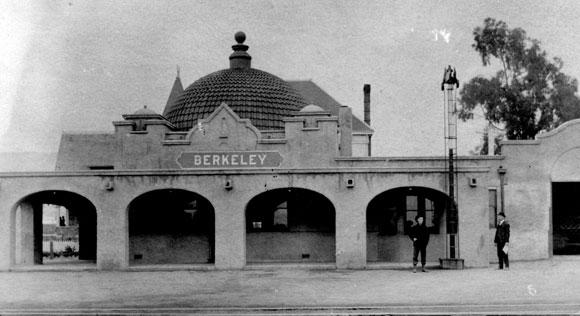 Berkeley Historical Plaque Project Santa Fe Railway Depot